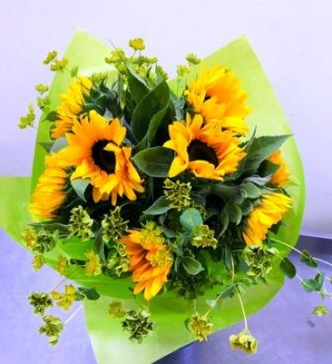 Farm Fresh Bouquet with Sunflowers