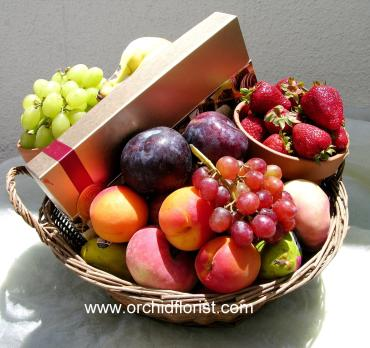 Get Well Fruit Basket
